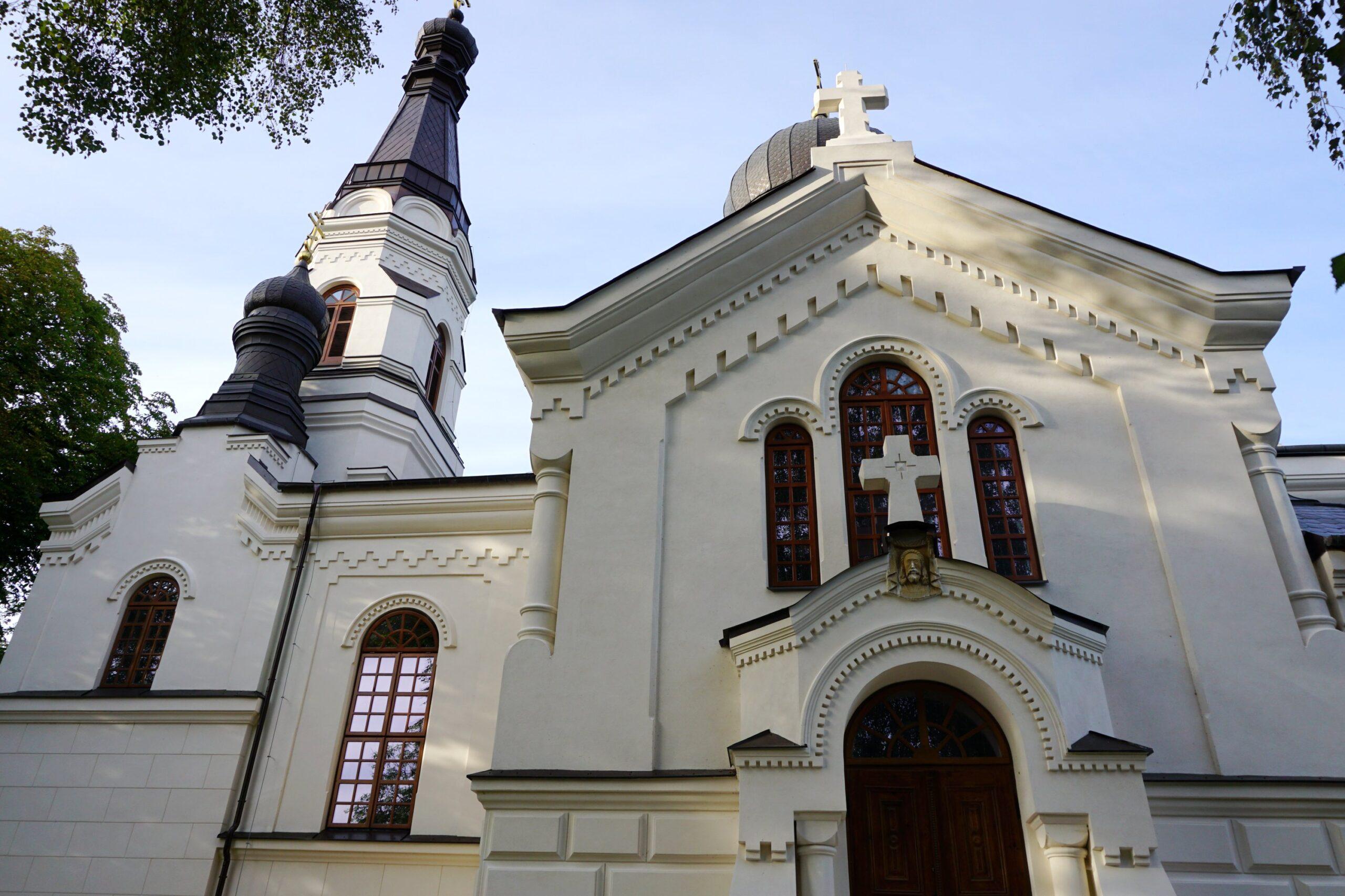Budynek cerkwi we Włodawie, 2020 r.